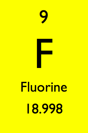 fluorine in the periodic table